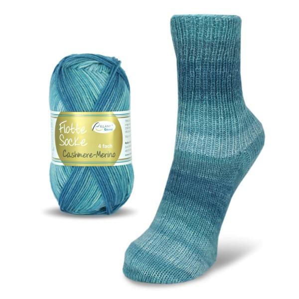 Flotte Socke 4f. Cashmere-Merino