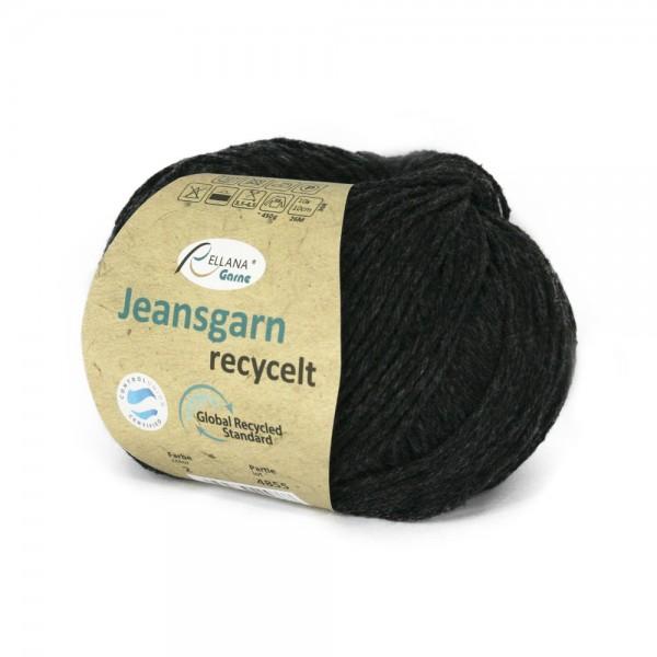Jeansgarn, recycelt