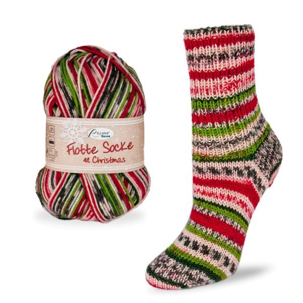 Flotte Socke 4f. Christmas