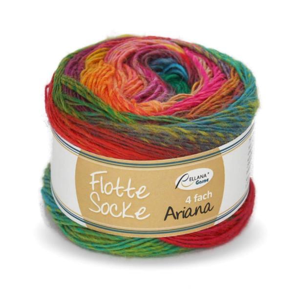 Flotte Socke 4f. Ariana