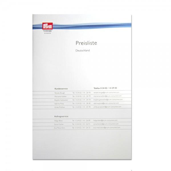 Prym Preisliste