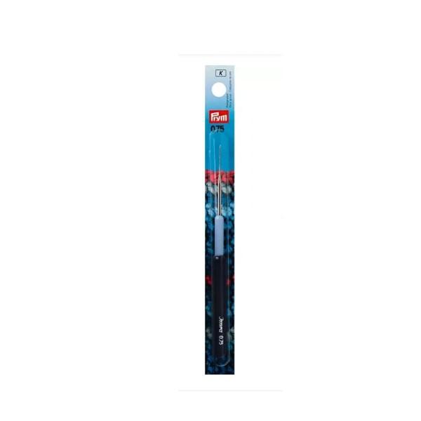 Garnhäkelnadeln mit Kunststoffgriff 0,75 mm