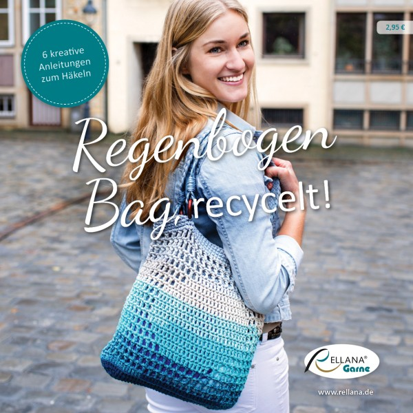Anleitungsheft - Regenbogen Bag, recycelt