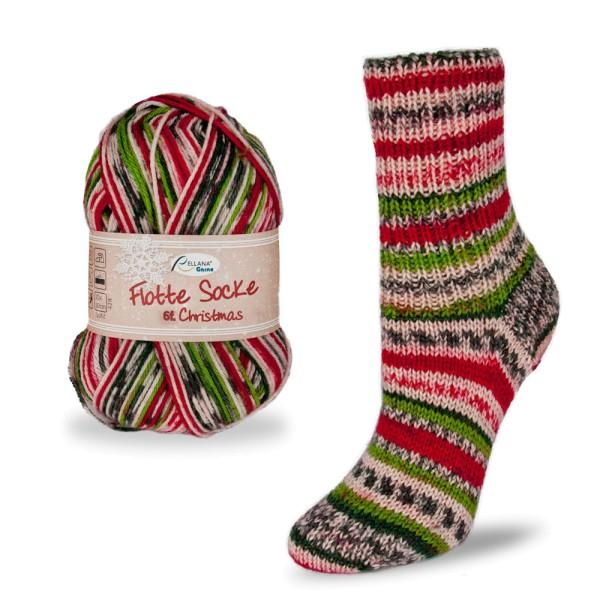 Flotte Socke 6f. Christmas
