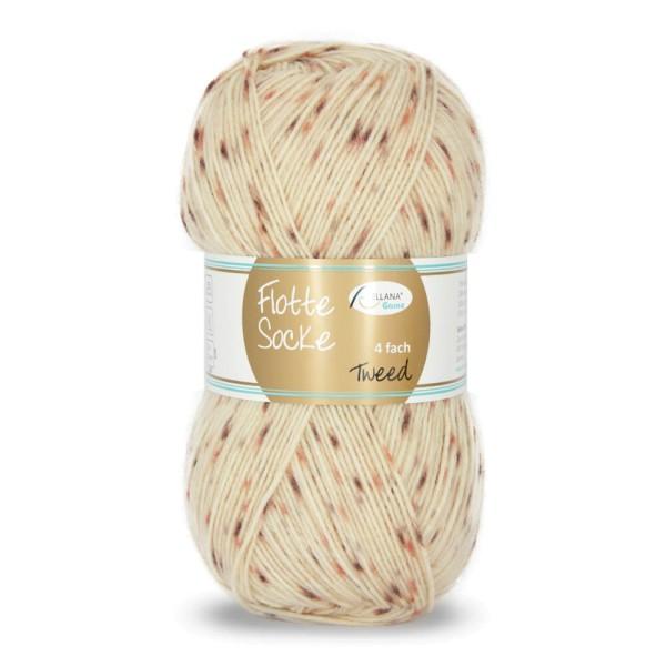 Flotte Socke 4f. Tweed