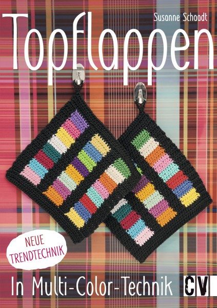 Topflappen in Multi-Color Technik