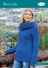 121 Merino Big | Pullover mit Loop