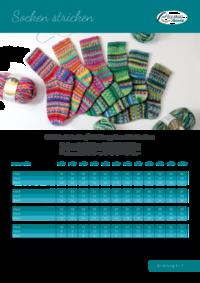 Grundanleitung | Socken stricken