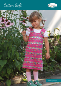 24 Cotton Soft Kinderkleid gehäkelt