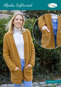 377 Alpaka Softtweed | Cardigan