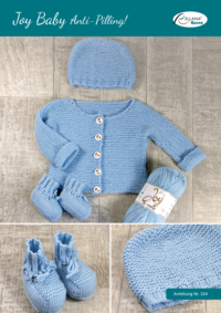 154 Joy Baby Anti-Pilling Babyjacke, Mütze und Schuhe