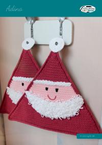 81 Adina Topflappen Weihnachtsmann
